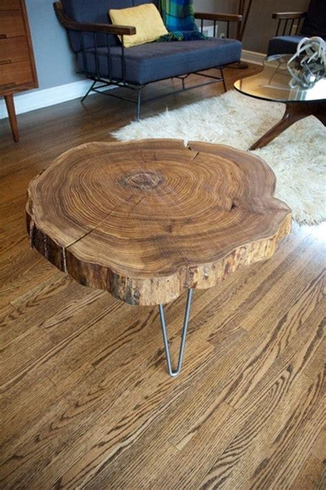 wood slab table diy remodelaholic diy simple wood slab coffee table when