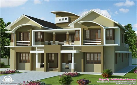 villa home plans 6 bedroom luxury villa design in 5091 sq