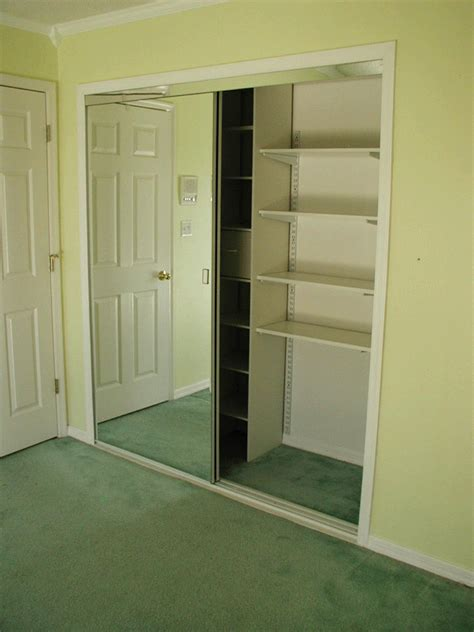 Bi Pass Closet Doors Closet Upgrades