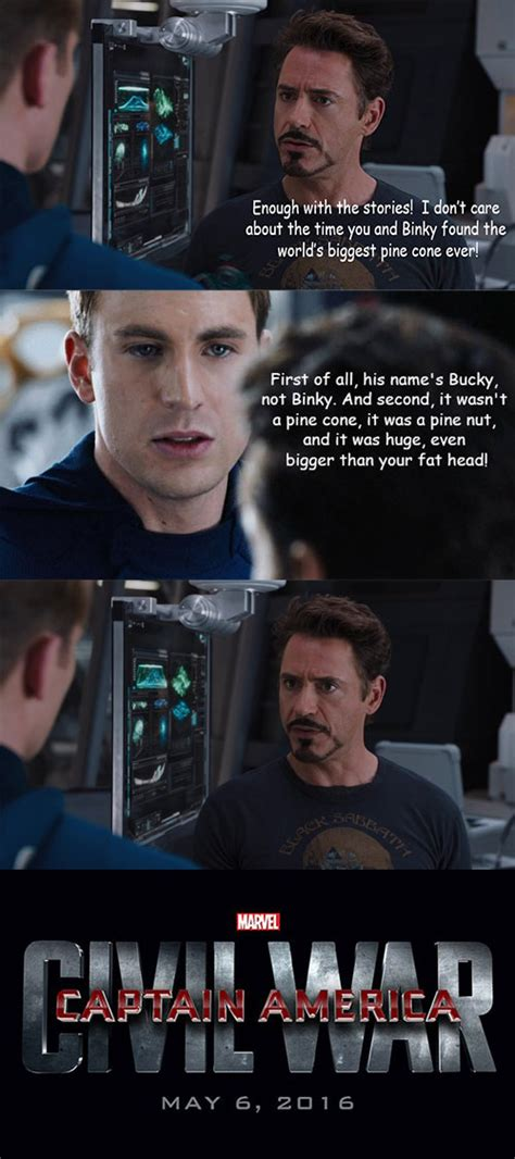 Captain America Kink Meme - these captain america civil war memes explain why tony