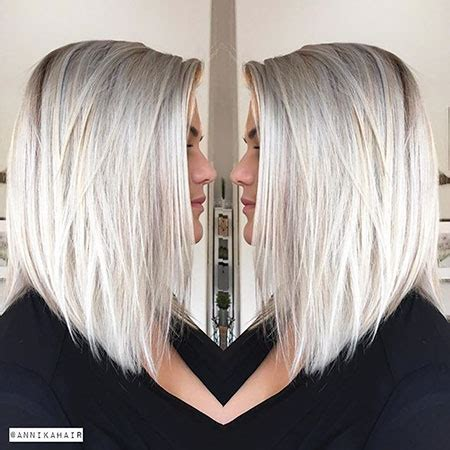 25 short straight blonde hairstyles 2017 2018 | short