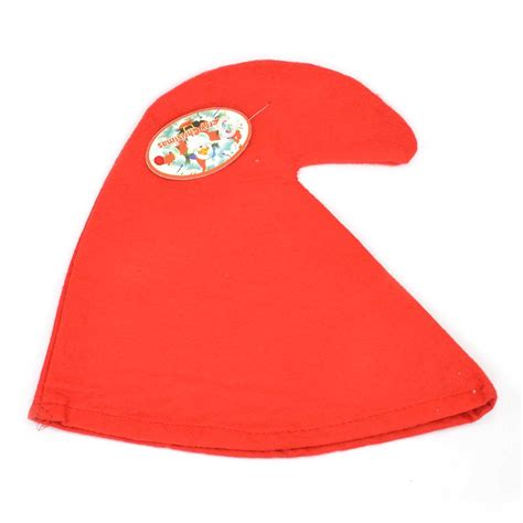 gnome themes redhat gnome hat christmas fancy dress one size adult red or