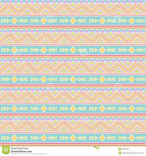 tribal pattern pastel wallpaper seamless tileable vector background in pastel tribal style