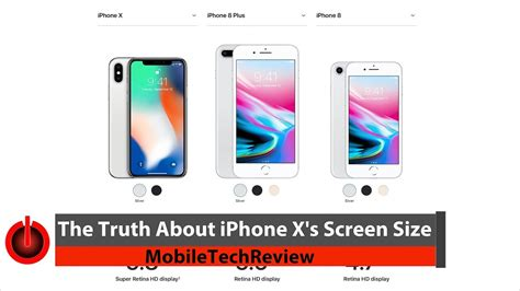 truth  iphone xs screen size youtube