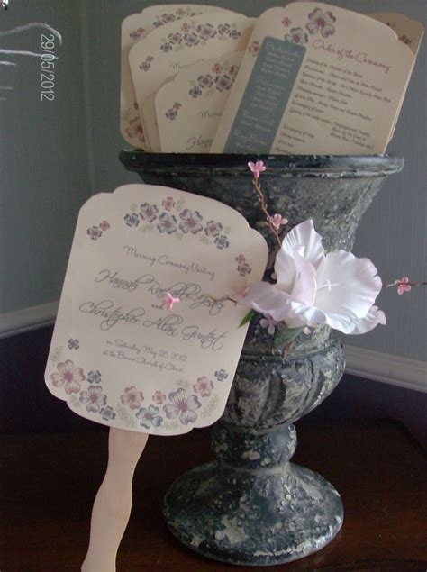paper fan wedding programs 39 best paper fans for wedding or church images on