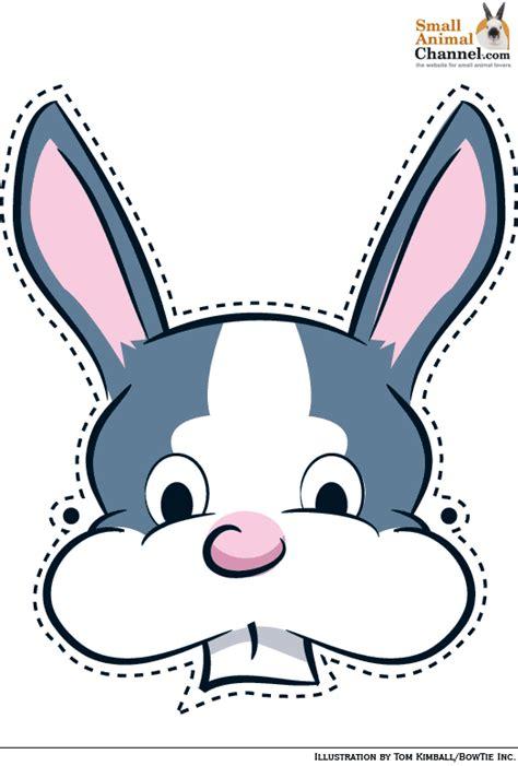 printable hare mask rabbit face mask www pixshark com images galleries