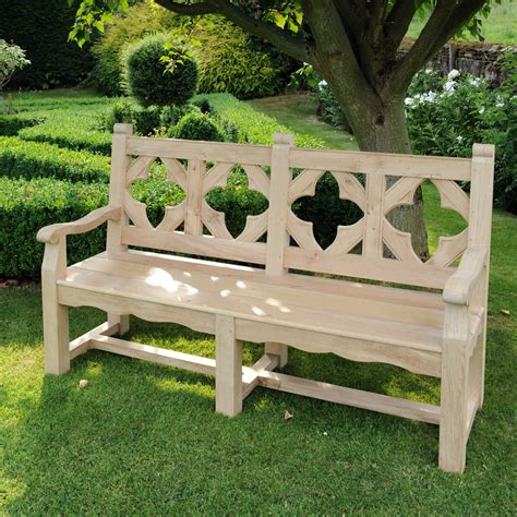 bespoke garden bench mclaughlin furniture portfolio