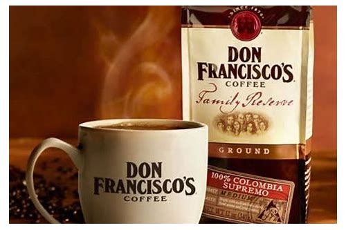 don francisco's coffee coupon online