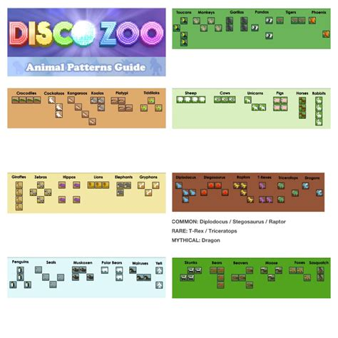 zebra pattern disco zoo disco zoo animal patterns cheat sheet you re welcome