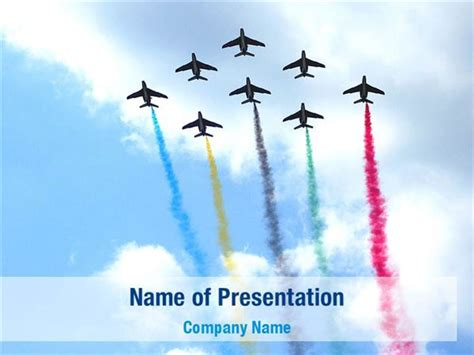 official air powerpoint template aircraft parade powerpoint templates aircraft parade