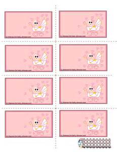 baby shower label template free printable pink baby shower labels