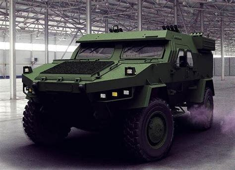 concept armored vehicle defense industry unveils 4x4 armoured vehicle