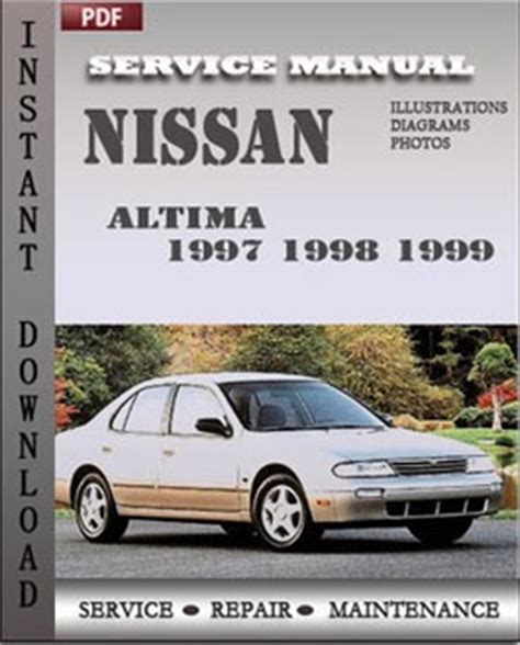 auto repair manual free download 1999 nissan altima seat position control nissan altima 1997 1998 1999 workshop factory service repair shop manual pdf download online