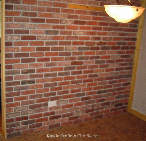 interior brick wall how to install a brick wall in the interior of your home