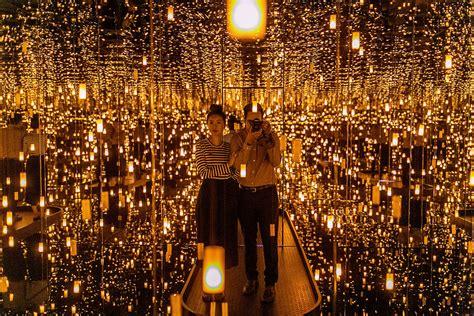 light art exhibit nyc yayoi kusama quot infinity mirrors quot seattle art museum hey