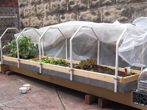 raised garden bed hardware gutter grow system as a raised bed tomatoville