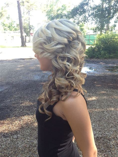 cute hairstyles pinterest prom hair updo curly hair blonde hair cute hairstyles