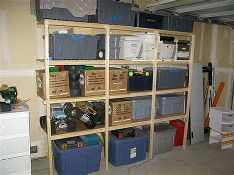 Garage Plans With Storage by Garage Storage Shelves Plans Decor Ideasdecor Ideas