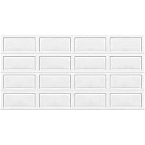 Wayne Dalton Insulated Garage Door Shop Wayne Dalton 9100 Series 16 Ft X 7 Ft Insulated White