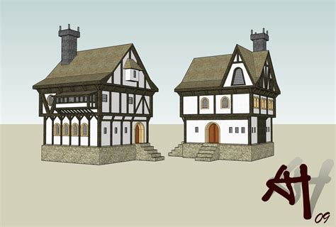 medieval house medieval town house gsu by deathfromabove86 on deviantart