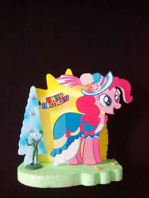 Background Hiasan Kue jual background hiasan kue ulang tahun pony medium hikmahpartyshop