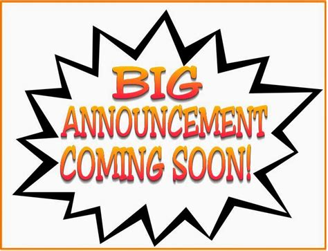 Time To Announce The Big News by O Mat 174 Santa Fe Big Announcement Coming Soon