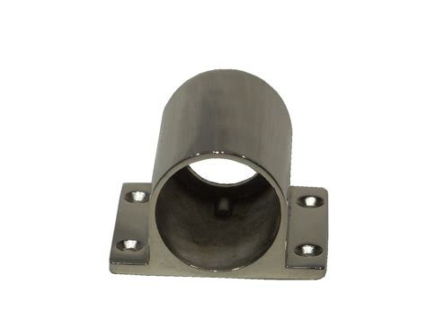Poles Stainlees 4 In stainless fixed antenna pole base