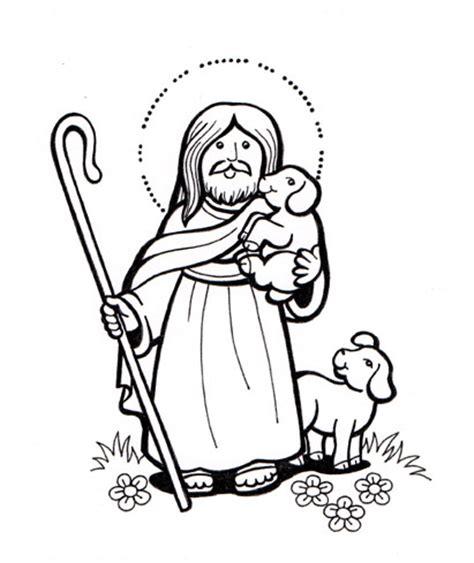 imagenes de jesus el buen pastor para nino imagenes para colorear de jesus el buen pastor imagui