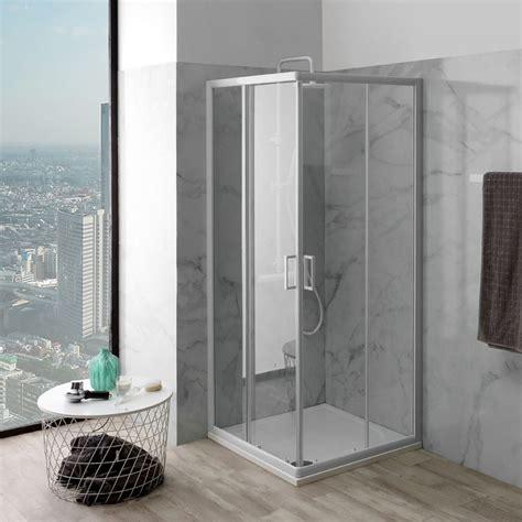 box doccia in vetro box doccia vetro trasparente 75x75 cm prezzo economico