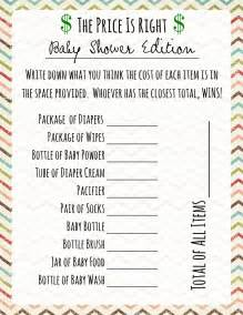 baby shower price is right frugal fanatic