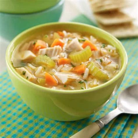 chicken soup with rice slow cooker chicken rice soup magic skillet