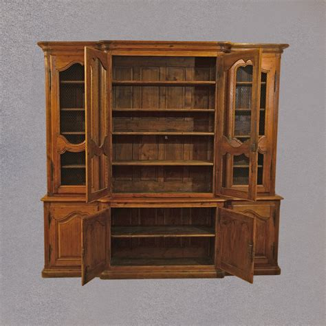antique oak 8 foot large bookcase