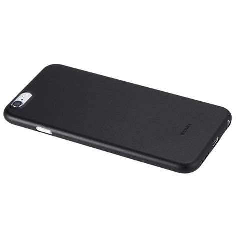 Benks Ultra Thin Slim 0 4mm Apple Iphone X Solid Black benks 0 4mm ultra thin pp back for iphone 6 6s black free shipping dealextreme