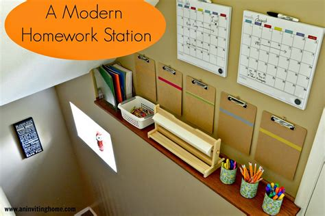 homework station job chart for kids simplify vacation with a packing list