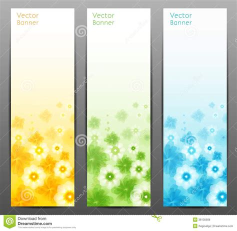 brochure background templates abstract flower vector background brochure template