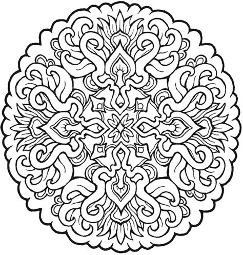 mystical mandala coloring pages free more mystical mandalas coloring pages dover publications