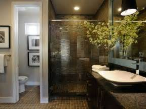 master bathroom renovation ideas small master bathroom remodel ideas with dark ceramic tile