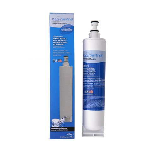 water filter water sentinel wsw 1 refrigerator filter whirlpool