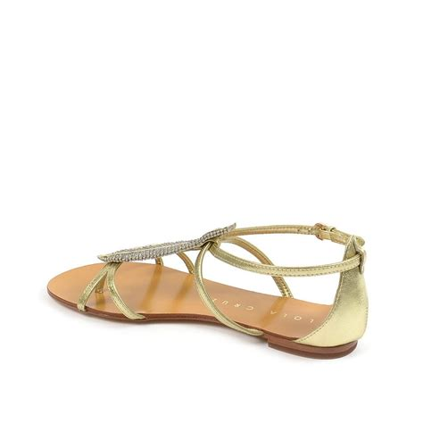 flat embellished sandals lola lola embellished flat sandals
