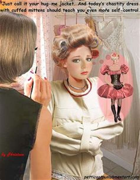 Forced Fem Petticoat Dress Curls Hair Rollers | petticoat punishment pictures