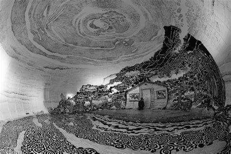 dessin d un paysage japonais 224 l int 233 rieur d un d 244 me