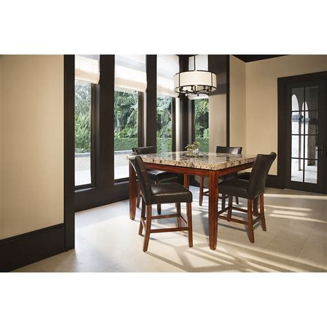 Dining Rooms City by City Lghts Square Marble High Dining Room