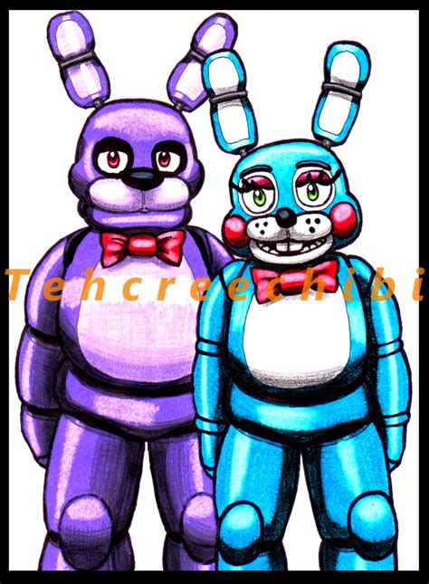 Wallpaper Bonny 1046 bonnie and bonnie by tehcreechibi on deviantart
