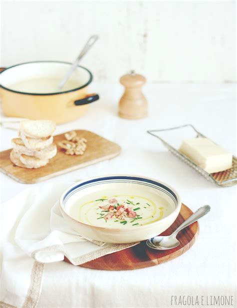 zuppa sedano rapa vellutata con sedano rapa