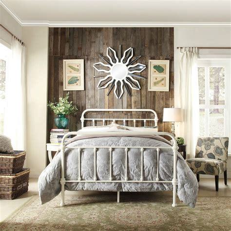 White Iron Beds by White Iron Bed Frame Antique Vintage Metal Modern