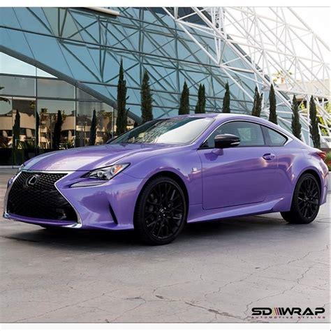 lexus purple lexus wrapped in avery sw metallic purple vinyl