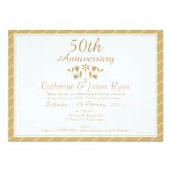 50th wedding anniversary invitations 3000 50th wedding