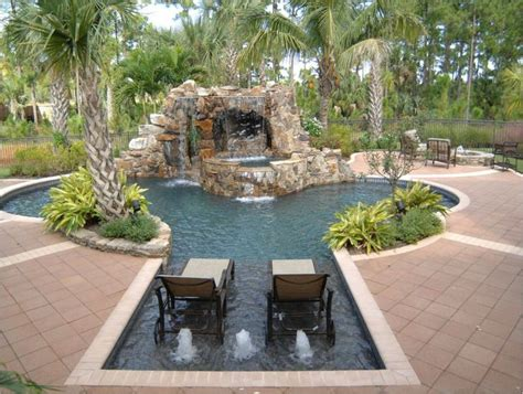 Awesome Backyards by Awesome Residential Backyard Swimming Pools Design A