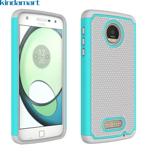 New Monocozzi Lucid Shock Protection Soft Shell For Iphone 7 for moto z2 z play soft rubber back dual cover drop shock protection for