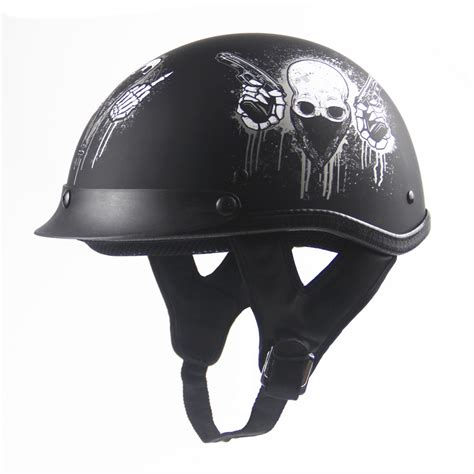 Open Retro Cycling Motorcycle Skull Helmet dot approved helmet motorcycle engine open means personality retro motorcycle skull helmet